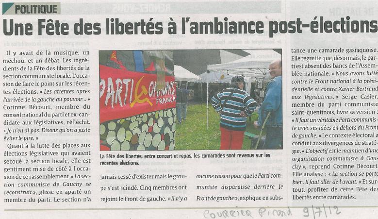 COURRIER-PICARD-FETE-LIBERTES-2012 PCF SAINT-QUENTIN AISNE dans Fête des Libertés-Fête Huma-Repas ECT
