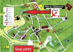 Saint Quentin à la fête de l'Humanité 2012, des débats, des concerts de