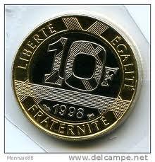62% des Français rejettent l'euro, 77% des employés et ouvriers (sondage IFOP)... dans Communisme-Histoire- Théorie 130102_10francs_piece