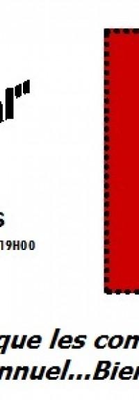 Samedi 9 mars à 19h, Salle PARINGAULT à Saint-Quentin, inscrivez-vous!