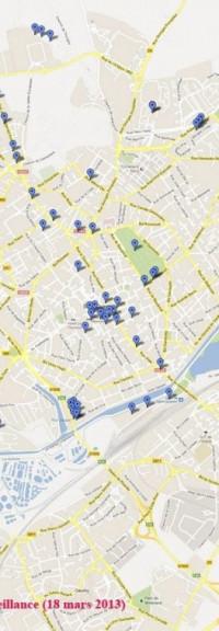 Vidéosurveillance, l'escroquerie au sentiment d'insécurité continue (conseil municipal 18-3-2013 Olivier TOURNAY – PCF – pour l'opposition)