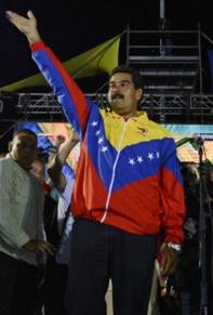 Nicolas Maduro élu président du Venezuela au 1er tour, avec 50,66% des voix! Après le défi démocratique, le nouveau défi socialiste. dans Communisme-Histoire- Théorie 130415_maduro