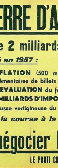 Pour Mélenchon, la guerre d'Algérie n'a été qu'une « guerre civile »