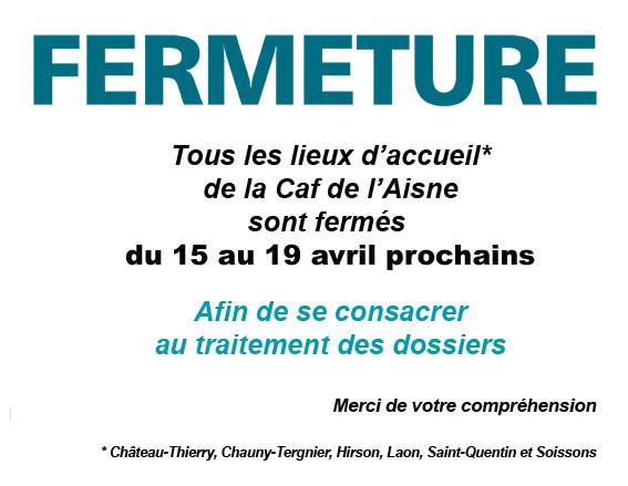 CAF, des dossiers à la trainent dont dépendent les  familles, des personnels compressés et pour  finalité la fermeture d'un service publique pendant une semaine dans Le PCF à St Quentin fermeture_avril2013