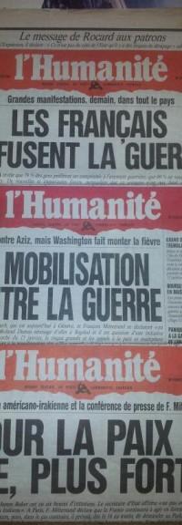 Non à toute intervention militaire française en Syrie !