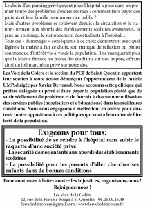 tract hopital parking 01 14-2