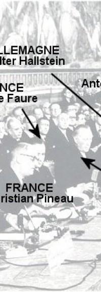 « Le Traité de Rome est passé inaperçu, c'est sans doute ce qui nous a permis d'aller aussi vite » – Maurice Faure, signataire pour la France