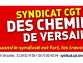 CGT cheminots de Versailles : Paris tient bon, il faut aller au bout des possibilités !